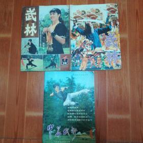 武林   杂志  1984年第1、2期;   中华武术  杂志1983年第4期(中国武术协会)