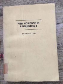 new horizons in linguistics 1