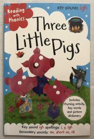 平装 three little pigs 三只小猪