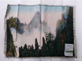 老的杭州丝织厂丝织品,可以装框做卡纸装饰