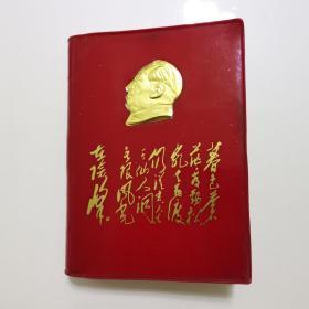 毛主席诗词(烫金头像特别版)  1967年 北京