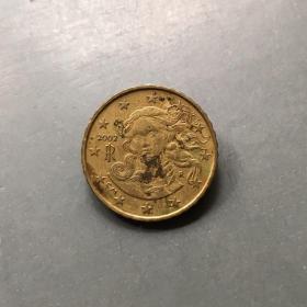 2002年意大利(10欧分硬币)