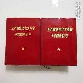 无产阶级文化大革命全面胜利万岁(上下两册)外交部政治版