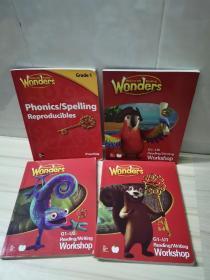 wonders(G1-U5  、G1-U2、G1-U1  、practice四本合售)
