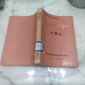 中国共产党历史资料丛书《南方局党史资料大事记》