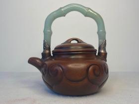 民国时期蒋德林款紫砂壶做工考究全品
