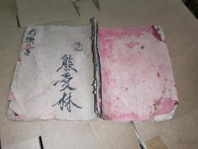 江西武门世家祖传穴位脉诀经络人图《打药书》一册手抄本,图文并茂,不可多得的中医穴位跌打损伤方。薄册,有效内容12个筒子页24面。