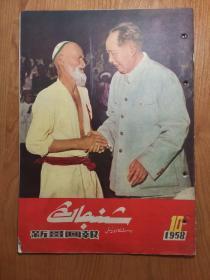 新疆画报 1958年第10期