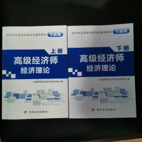高级经济师资格考试2018年教材 高级经济师经济理论(上、下)册 全套2本 赠12科专业知识与实务