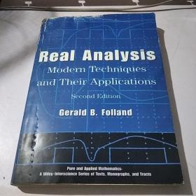 Real Analysis:Modern Techniques and Their Applications
