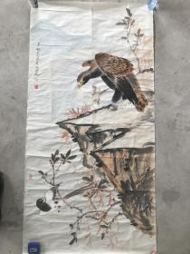 天美实力派画家王少桓精品4尺工笔花鸟