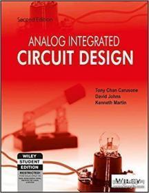 Analog Integrated Circuit Design ISV-模拟集成电路设计
