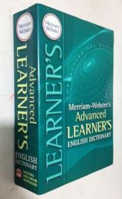 Merriam-Webster's Advanced Learner's English Dictionary  韦氏高级学习者英语词典  平装