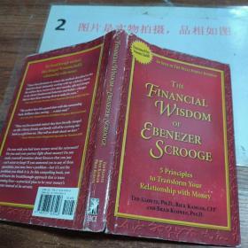 英文原版 精装 The Financial Wisdom of Ebenezer Scrooge: Transforming Your Relationship with Money吝啬鬼埃比尼泽的金融智慧:改变你与钱之间的关系 ,有字迹
