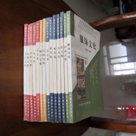 雅俗文化书系:服饰文化、居家文化、俗文化、活文化、死文化、梦文化、乐文化、官场文化、痞子文化、山文化、花文化、名胜文化、名刹文化、节日文化14本书合售