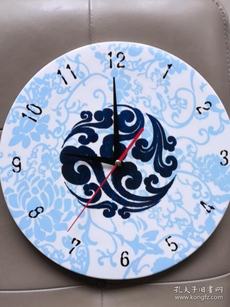 表  工藝瓷盤石英鐘 工藝瓷盤表