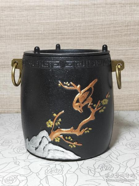 鑄鐵梅花炭爐酒精爐(xka)(多平臺同售,請先咨詢情況,避免已售)