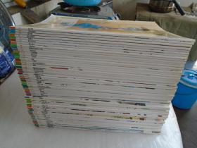 彩色世界童话全集(第1--6辑 缺3、45、50册)57本合售 无外盒