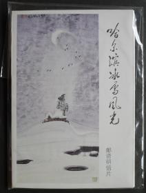 特種郵資明信片,TP.1 哈爾濱冰雪風光(A組)。6枚全、帶封套。