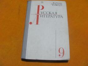 俄罗斯文学 9 (俄文版)