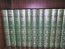 Complete Works Of Charles Dickens(Centennial Edition)《狄更斯作品全集》36册全本,狄更斯逝世100周年纪念版,仿摩洛哥皮革装帧,内含大量原版及现代插画
