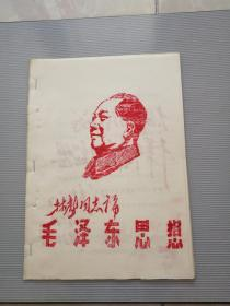 文革油印 林彪同志论毛泽东思想(24论)