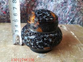 古董古玩杂项雕刻瓶