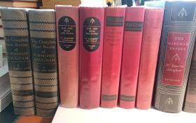 W.Somerset Maugham作品合售,含套装3套,单本10本,共计17册,包含短篇小说全集两套和绝大部分长篇小说(不单卖)