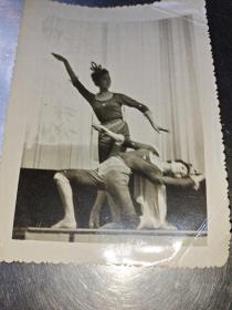 老照片。舞蹈。