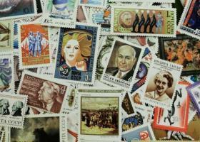 前苏联邮票全新票100枚不同
