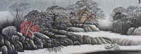 孔祥成老师,雪景,尺寸180+70厘米,现货9副