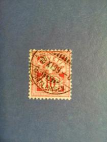 外国邮票 瑞士邮票  早期邮票 ·十字盾牌(信销票)