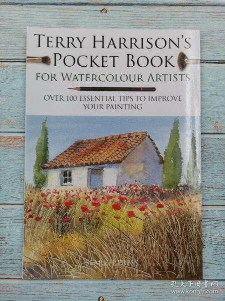 Terry Harrison's Pocket Book for Watercolour Artists: Over 100 essential tips to improve your painting 特里哈里森的水彩画艺术家口袋书:100多个改善你的绘画技巧