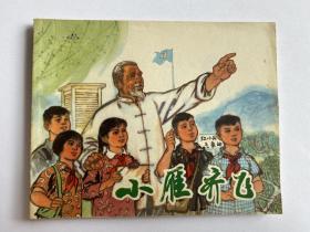 文革连环画 毛用坤作品《小雁齐飞》