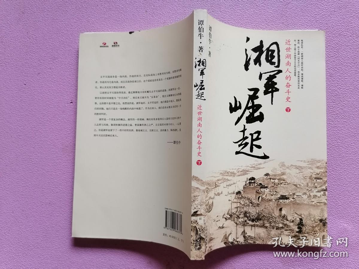 湘军崛起:近世湖南人的奋斗史 下册