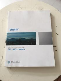 CFA Program Curriculum 2017(Level ll Volume 4)
