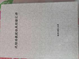 沈绍功教授临床经验汇讲