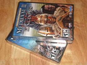 美国正版 全面战争 中世纪2 2 双盒装 现货