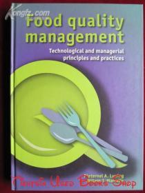 Food Quality Management: Technological and Managerial Principles and Practices(英语原版 精装本)食品质量管理:技术和管理原则与实践