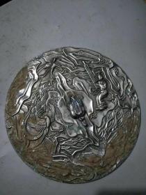 圆镜,皮壳包浆一流,雕刻生动,品相一流...,.