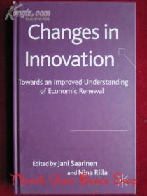 Changes in Innovation: Towards an Improved Understanding of Economic Renewal(英语原版 精装本)创新中的变化:加深对经济更新的认识