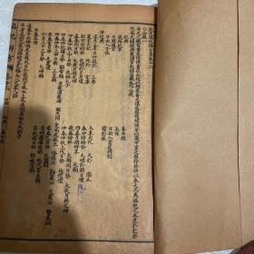 民国石印线装版 《协纪辨方书》12-19卷合订本如图所示