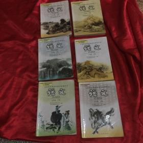 广东初中语文课本一套6册,初一初二初三