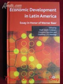 Economic Development in Latin America: Essay in Honor of Werner Baer(英语原版 精装本)拉丁美洲的经济发展:纪念维尔纳·贝尔的文章
