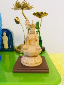 地藏菩萨像 台湾工艺 3寸