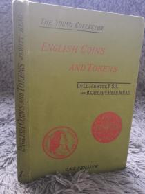 1894年 ENGLISH COINS AND TOKENS 《英国硬币和代币》   海量插图