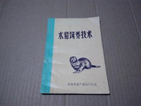 水貂饲养技术