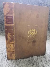 1882年  STORIES FROM HOMER  《荷马史诗故事 》  含24副插图  全皮装帧  三面书口花纹