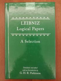 Logical Papers: A Selection(精装)(进口原版,国内现货)