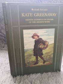 1910年  KATE GREENAWAY   含精美彩色贴图